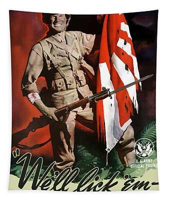 Us Army -- World War Two Propaganda Tapestry