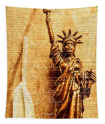 Us Constitution Tapestry