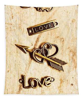 Valentine Pendants Tapestry