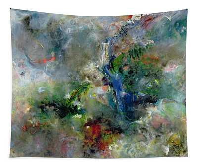 Valley Of The Waterfalls Tapestry