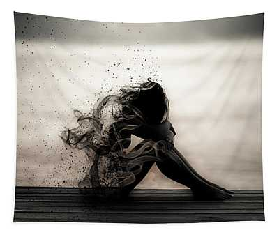 Vapours Of Sadness Tapestry