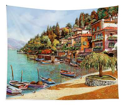 Varenna On Lake Como Tapestry
