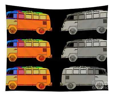 Vdub Surfer Bus Series Tapestry