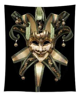 Venetian Mask Tapestry