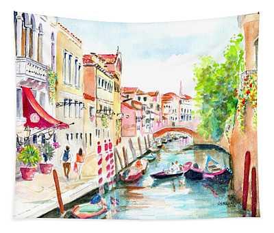 Venice Canal Boscolo Venezia Tapestry