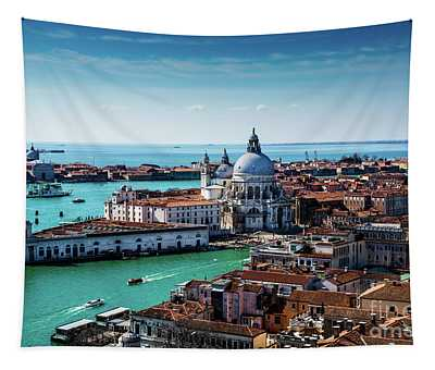 Tapestry featuring the photograph Eternal Venice by M G Whittingham