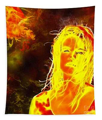 Venus Is Home Tapestry