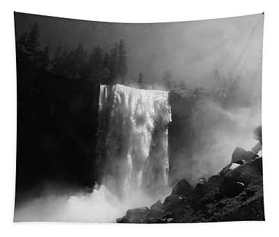 Vernal Fall And Mist Trail Tapestry