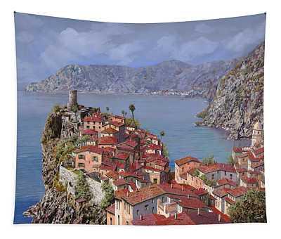 Vernazza-cinque Terre Tapestry