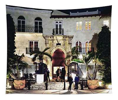 Versace Mansion South Beach Tapestry
