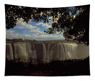 Tapestry featuring the photograph Victoria Falls, Zimbabwe by Travel Pics