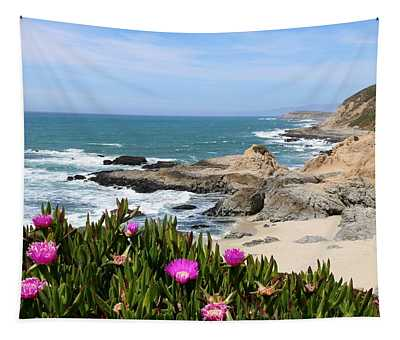 View From Bodega Head In Bodega Bay Ca - 3 Tapestry
