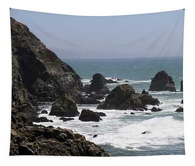 View From Bodega Head In Bodega Bay Ca - 4 Tapestry