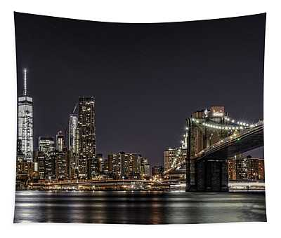 View From Brooklyn Bridge Park Tapestry