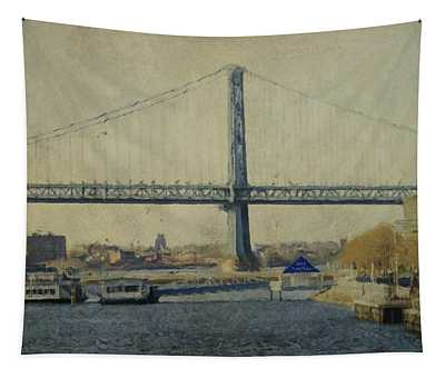 View From The Battleship Tapestry