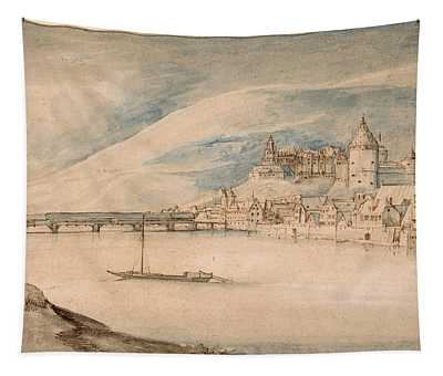 View Of Heidelberg Tapestry