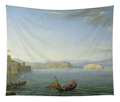 View Of Naples Tapestry