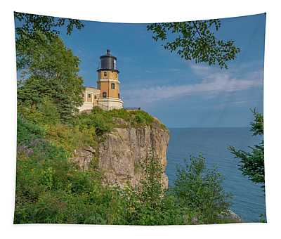 View Of Split Rock Lighthouse Tapestry