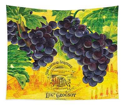 Vigne De Raisins Tapestry