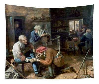 Village Barber-surgeon Tapestry