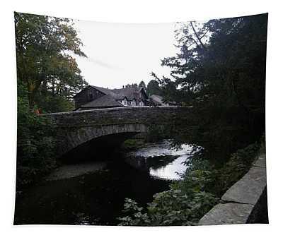 Village Bridge Tapestry