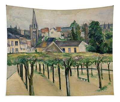 Village Square Tapestry