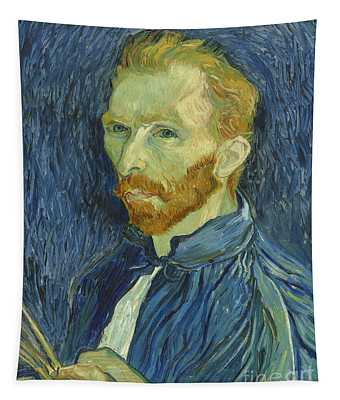 Vincent Van Gogh Self-portrait 1889 Tapestry