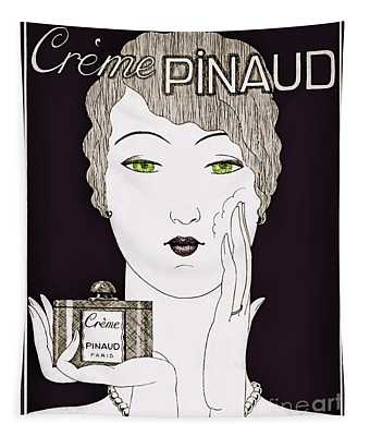 Vintage Art Deco Perfume Glamour  Tapestry
