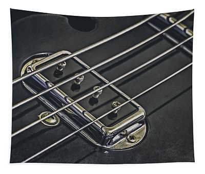 Vintage Bass Tapestry