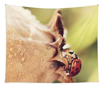 Vintage Beetle Tapestry