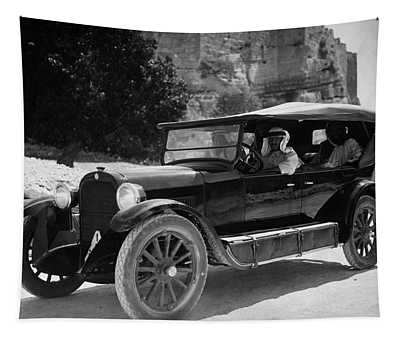 Vintage Car - Middle East - Circa 1930 Tapestry