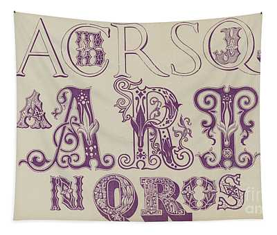 Vintage Fonts    Examples Of Letters  Tapestry