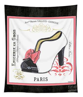 Vintage French Shoes 2 Tapestry