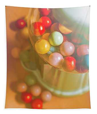 Vintage Gum Ball Candy Dispenser Tapestry