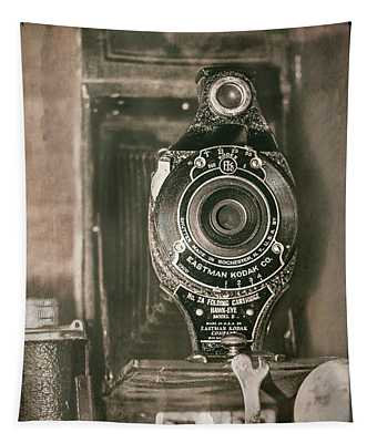 Vintage Kodak Camera Tapestry