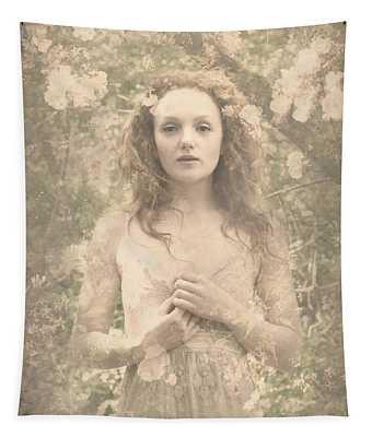 Vintage Portrait Tapestry