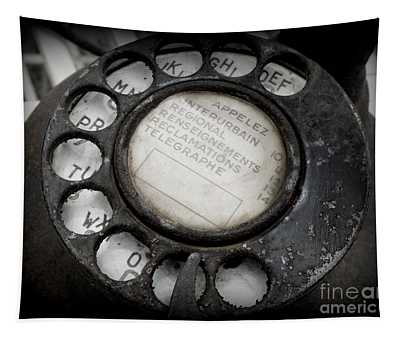 Vintage Telephone Tapestry