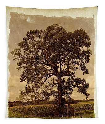 Vintage Tree Tapestry