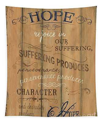 Vintage Wtlb Hope Tapestry