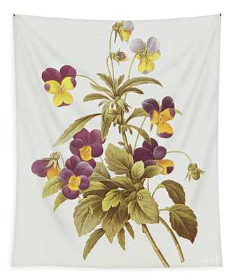 Viola Tricolour  Tapestry