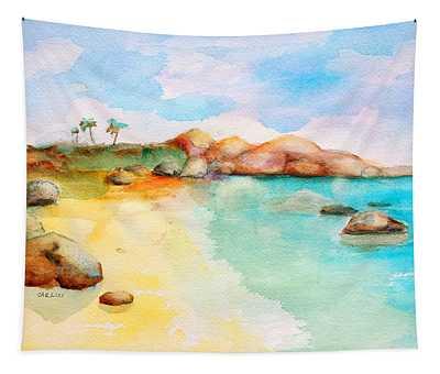 Virgin Rocks Tapestry