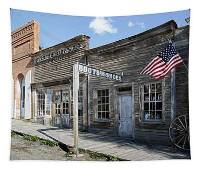 Virginia City Ghost Town - Montana Tapestry