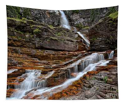 Virginia Falls And Streams Tapestry