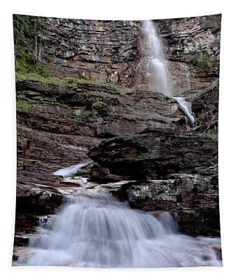 Virginia Falls Fan Tapestry