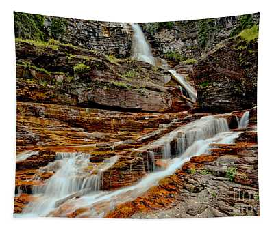 Virginia Falls Landscape Tapestry