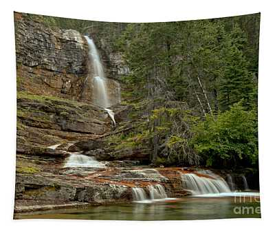 Virginia Falls Pool Tapestry