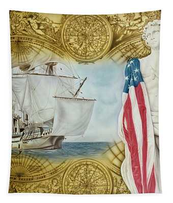 Visions Of Discovery Tapestry