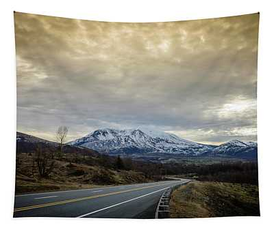 Volcanic Road Tapestry