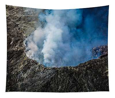 Another View Of The Kalauea Volcano Tapestry