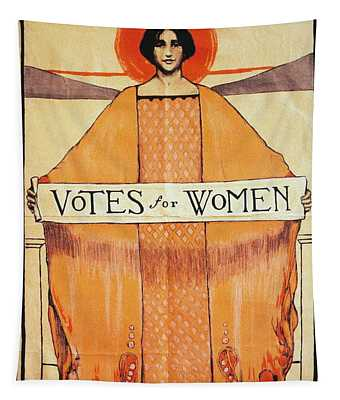 Votes For Women - To License For Professional Use Visit Granger.com Tapestry